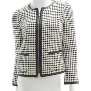 NWT BANANA REPUBLIC Black & White Blazer-Size 8